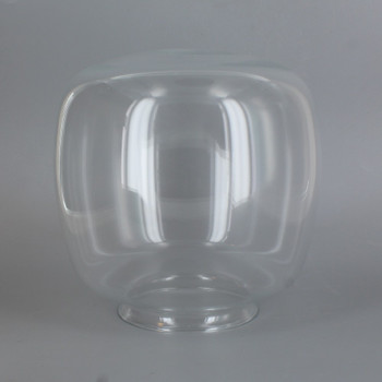 3-1/4in Fitter Clear Glass Squat Ball Shade