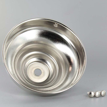 4in. Nickel Plated Finish Deep Holder
