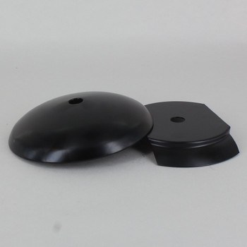 3in Steel Neckless Ball Holder Set with Cover and Insert  - Black Powedercoat Finish