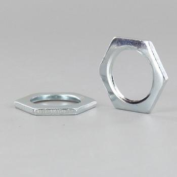 3/8ips. Zinc Plated Steel Hex Head Nut