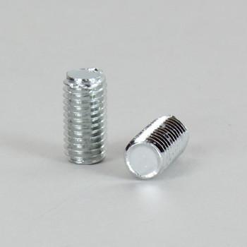 1/2in Long 1/4-27 Threaded Steel Stud