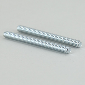 1-1/2in Long X 6/32 Threaded Unfinished Steel Stud