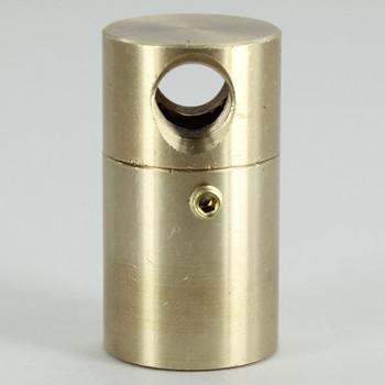 1/8ips Threaded - 7/8in Diameter Rotating Tee Swivel Unit With Locking Screw