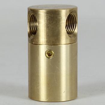1/8ips Threaded - 7/8in Diameter Rotating Y Swivel Unit with Locking Screw