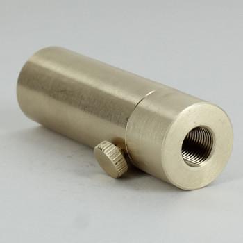 1/8ips Threaded - 7/8in Diameter Rotating Swivel Unit with Locking Thumb Screw