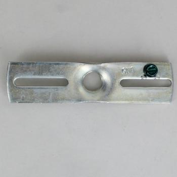 1/4ips. X 11 Gauge Heavy Duty Cross Bar - Zinc Plated with 8/32 Ground Screw