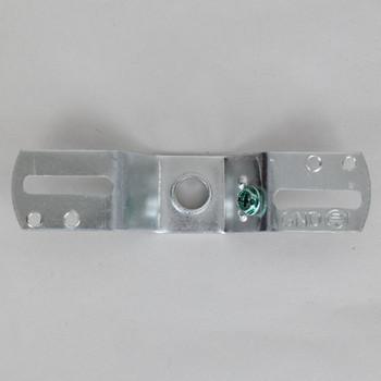 1/8ips Threaded Zinc Plated Bracket Mounting Cross Bar