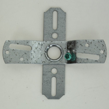 2-3/4in. Swivel Cross Bar with 8/32 Tapped Ground Hole