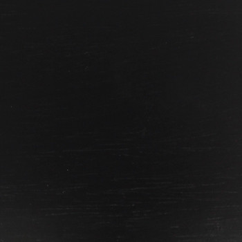 3in. Recessed Seat - 3 Feet Plain Bottom - Black