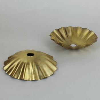 3in. Unfinished Brass Drawn Bobesche