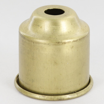 1-3/8in. Rolled Edge Cup - Unfinished Brass
