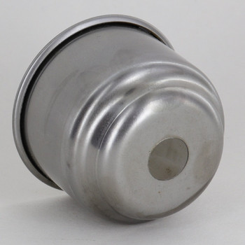1-5/8in. Unfinished Steel Rolled Edge Cup