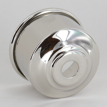 1-5/8in. Nickel Plated Finish Rolled Edge Cup