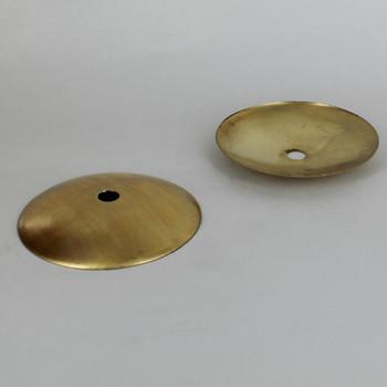 3-1/2in. Unfinished Spun Brass Bobeche