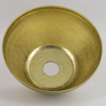 2-3/8in Diameter Cylindrical Cup - Unfinished Brass