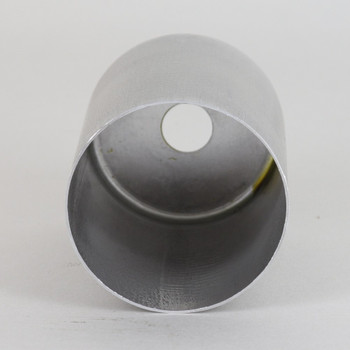 2-1/4in Tall Edison Lamp Socket Cup - Unfinished Aluminum
