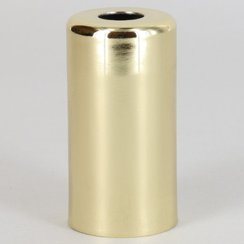 1-15/16in. Tall Candelabra Socket Cup - Brass Plated Finish