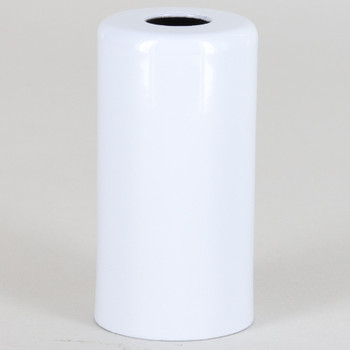 1-15/16in. Tall Candelabra Socket Cup - White Powdercoat Finish