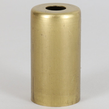 1-15/16in. Tall Candelabra Socket Cup - Unfinished Brass