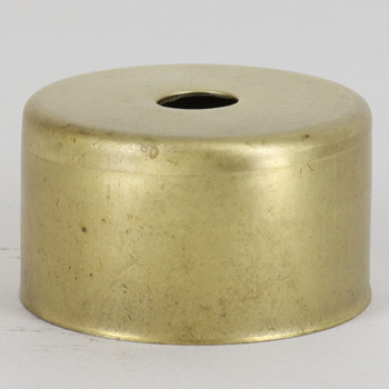 1-3/4in Diameter X 1in Height Cup - Unfinished Brass.