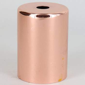2-1/4in Tall Edison Lamp Socket Cup - Copper Plated