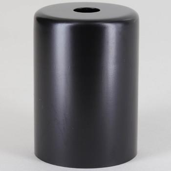 Edison Lamp Socket Cup - Black Powdercoat