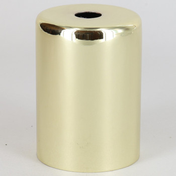2-1/4in Tall Edison Lamp Socket Cup - Brass Plated