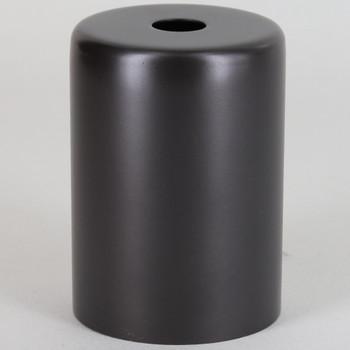 2-1/4in Tall Edison Lamp Socket Cup - Dark Bronze