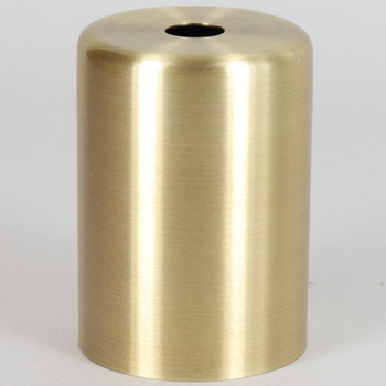2-1/4in Tall Edison Lamp Socket Cup - Brushed Brass