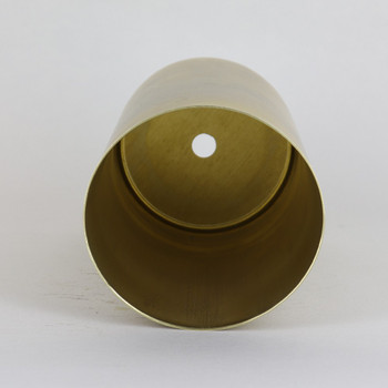 5-1/2in Tall Cylindrical Cup - Unfinished Brass