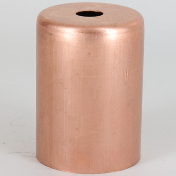 2-1/4in Tall Edison Lamp Socket Cup - Unfinished Copper