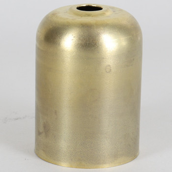 2-5/16in Tall Wide Round Bottom Edison Socket Cup - Unfinished Brass