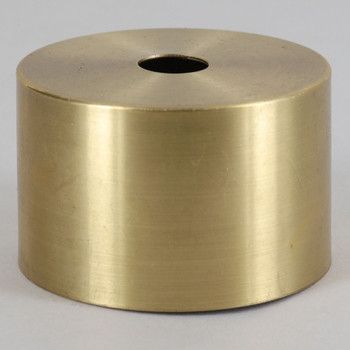 1-7/8in Diameter Steel Cup For Use With SOEUROED And SO7350 Series Lamp Sockets - Unfinished Brass