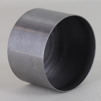 1-7/8in Diameter Steel Cup For Use With SOEUROED And SO7350 Series Lamp Sockets - Unfinished Steel