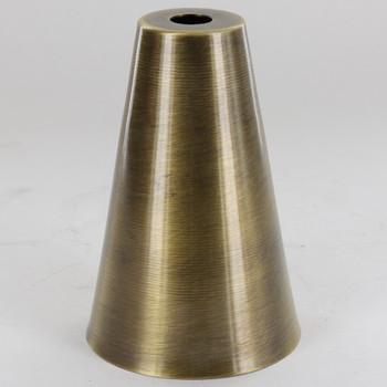 2-1/4in Diameter Cone Cup - Antique Brass Finish