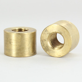 1/4ips - 1in X 3/4in - Cylinder Neck - Unfinished Brass