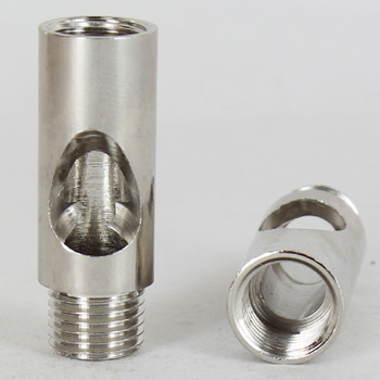 1/4ips - 13/16in  X 1-3/4in Coupling - Polished Nickel
