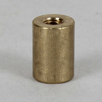1/8ips. X 1/4-27 Female Threaded Unfinished Brass Straight Coupling