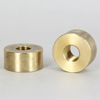 1/4ips - 1-1/4in x 5/8in Disc Coupling - Unfinished Brass
