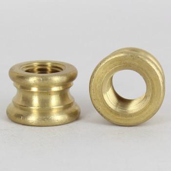 1/4ips. X 1/4ips. Female Threaded Unfinished Brass Turned Neck