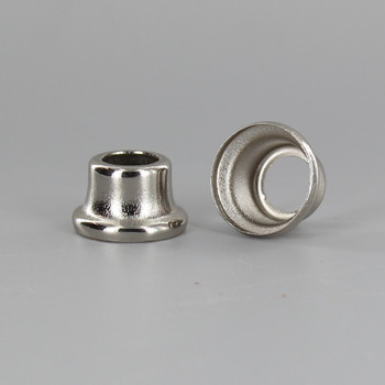 1/2in Height X 1/8ips. Slip Through Stamped Neck - Nickel Plated Finish