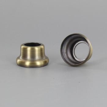 1/2in Height X 1/8ips. Slip Through Stamped Neck - Antique Brass Plated