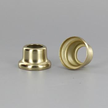 1/2in Height X 1/8ips. Slip Through Stamped Neck - Brass Plated