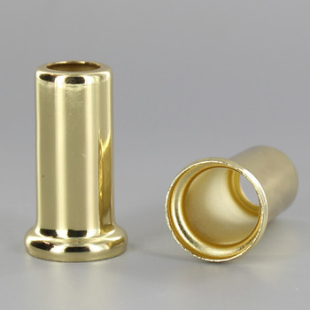 1-1/2in.Height X 1/8ips. Slip Through Stamped Neck - Brass Plated Finish