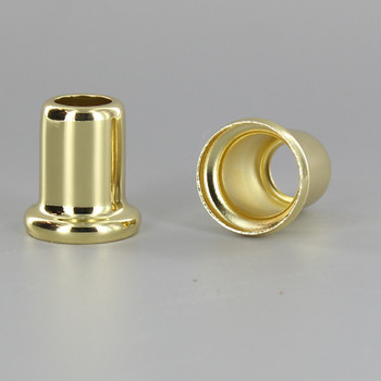 1in Height X 1/8ips. Slip Through Stamped Neck - Brass Plated Finish