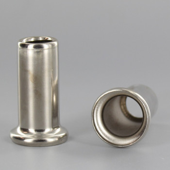 1-1/2in. Height X 1/8ips. Slip Through Stamped Neck - Nickel Plated Finish
