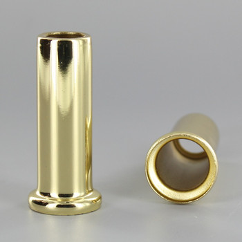 2in Height X 1/8ips. Slip Through Stamped Neck - Brass Plated Finish