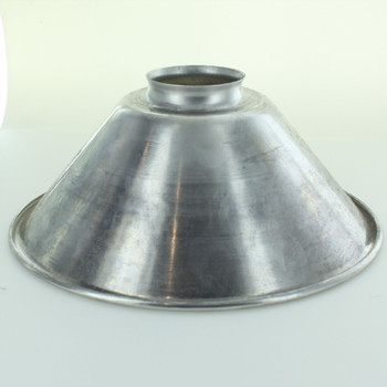 8in. Aluminum Cone Shade with 2-1/4in. Neck