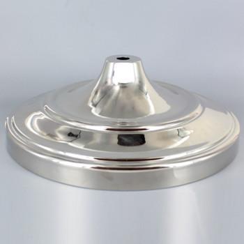 10-3/8 in. Diameter Floor Lamp Base - Polished Nickel