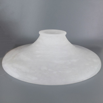 12in. x 3-1/4in. Fitter Alabaster Shade